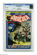 Bronze Age (1970-1979):Horror, Tomb of Dracula #4 Massachusetts pedigree (Marvel, 1972) CGC NM+9.6 White pages. Neal Adams and John Romita Sr. cover. Gene...