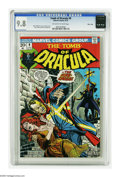 Bronze Age (1970-1979):Horror, Tomb of Dracula #9 Massachusetts pedigree (Marvel, 1973) CGC NM/MT9.8 Off-white to white pages. Gil Kane drew this issue's ...