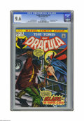 Bronze Age (1970-1979):Horror, Tomb of Dracula #10 (Marvel, 1973) CGC NM+ 9.6 White pages. This isthe first appearance of Blade, Vampire Slayer, and a boo...