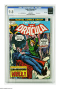 "Bronze Age (1970-1979):Horror, Tomb of Dracula #19 Massachusetts pedigree (Marvel, 1974) CGC NM/MT9.8 White pages. Here's one you should ""stake"" your clai..."