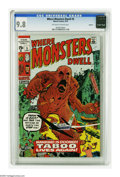Bronze Age (1970-1979):Horror, Where Monsters Dwell #5 Oakland pedigree (Marvel, 1970) CGC NM/MT9.8 Off-white to white pages. Artists include Jack Kirby. ...