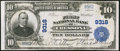 National Bank Notes:Pennsylvania, Cressona, PA - $10 1902 Plain Back Fr. 626 The First NB Ch. # 9318....