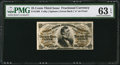 Fractional Currency:Third Issue, Fr. 1298 25¢ Third Issue PMG Choice Uncirculated 63 EPQ.. ...