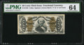 Fractional Currency:Third Issue, Fr. 1340 50¢ Third Issue Spinner Type II PMG Choice Uncir...