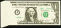 Error Notes:Foldovers, Fr. 1913-J $1 1985 Federal Reserve Note.. ...