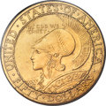 Commemorative Gold, 1915-S $50 Panama-Pacific 50 Dollar Round MS65 PCGS Secure....