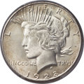 Peace Dollars, 1928 $1 MS66 PCGS....