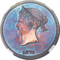 Patterns, 1876 $1 Sailor Head Dollar, Judd-1460, Pollock-1610, R.7, PR62 Red and Brown NGC....