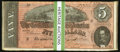Confederate Notes:1864 Issues, T69 $5 1864 PF-10 Cr. 564 Thirty-five Consecutive Examples.. ... (Total: 35 notes)