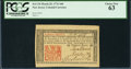Colonial Notes:New Jersey, New Jersey March 25, 1776 18d PCGS Choice New 63.. ...