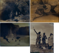 Edward Sheriff Curtis Native American Photo Group of 4 (c. 1940s).... (Total: 4 Items)