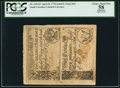 Colonial Notes:South Carolina, South Carolina April 10, 1778 2s/6d-5s Uncut Vertical Pair PCGS Apparent Choice About New 58.. ...