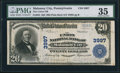 National Bank Notes:Pennsylvania, Mahanoy City, PA - $20 1902 Plain Back Fr. 652 The Union NB Ch. # 3997. ...