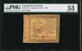 Colonial Notes:Continental Congress Issues, Continental Currency January 14, 1779 $35 PMG About Uncirculated53.. ...