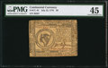 Colonial Notes:Continental Congress Issues, Continental Currency July 22, 1776 $8 PMG Choice Extremely Fine45.. ...