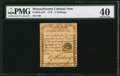 Colonial Notes:Massachusetts, Massachusetts 1779 3s PMG Extremely Fine 40.. ...