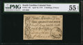 Colonial Notes:South Carolina, South Carolina April 10, 1778 3s/9d PMG About Uncirculated 55 EPQ.....