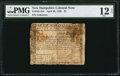 Colonial Notes:New Hampshire, New Hampshire April 29, 1780 $7 PMG Fine 12 Net.. ...