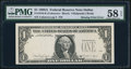 Fr. 1916-K $1 1988A Federal Reserve Note. PMG Choice About Unc 58 EPQ
