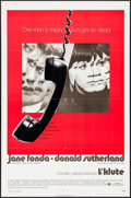 """Movie Posters:Thriller, Klute (Warner Brothers, 1971). One Sheets (2) (27"""" X 41"""") Style A & B, Lobby Card Set of 8 (11"""" X 14""""), Photos (2) (8"""" X 10""""... (Total: 13 Items)"""
