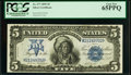 Large Size:Silver Certificates, Fr. 277 $5 1899 Silver Certificate PCGS Gem New 65PPQ.. ...