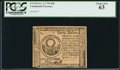 Colonial Notes:Continental Congress Issues, Continental Currency November 2, 1776 $30 PCGS Choice New 63.. ...