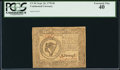 Colonial Notes:Continental Congress Issues, Continental Currency September 26, 1778 $8 PCGS Extremely Fine 40.....