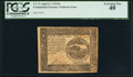 Colonial Notes:Continental Congress Issues, Continental Currency April 11, 1778 $4 PCGS Extremely Fine 40.. ...