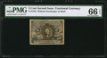 Fractional Currency:Second Issue, Fr. 1232 5¢ Second Issue PMG Gem Uncirculated 66 EPQ.. ...