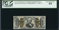 Fractional Currency:Third Issue, Fr. 1340 50¢ Third Issue Spinner Type II PCGS Very Choice New 64.. ...