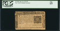 Colonial Notes:New York, New York August 13, 1776 $5 PCGS Fine 15.. ...