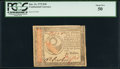 Colonial Notes:Continental Congress Issues, Continental Currency January 14, 1779 $30 PCGS About New 50.. ...