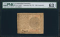 Colonial Notes:Continental Congress Issues, Continental Currency September 26, 1778 $60 ContemporaryCounterfeit PMG Choice Uncirculated 63 EPQ.. ...