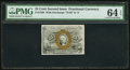 Fractional Currency:Second Issue, Fr. 1288 25¢ Second Issue PMG Choice Uncirculated 64 EPQ.. ...