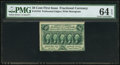 Fractional Currency:First Issue, Fr. 1310 50¢ First Issue PMG Choice Uncirculated 64 EPQ.. ...
