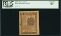 Colonial Notes:Delaware, Delaware May 1, 1777 3d PCGS Choice New 63.. ...