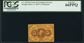 Fractional Currency:First Issue, Fr. 1230 5¢ First Issue PCGS Gem New 66PPQ.. ...