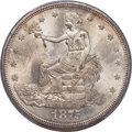 Trade Dollars, 1875 T$1 Type Two Reverse MS65 PCGS....