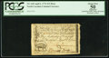 Colonial Notes:North Carolina, North Carolina April 2, 1776 $15 Boar PCGS Apparent About New 50.....