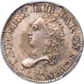 Early Half Dimes, 1792 H10C Half Disme, Judd-7, Pollock-7, R.4, MS66 PCGS Secure....