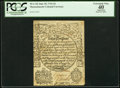 Colonial Notes:Massachusetts, Massachusetts June 20, 1744 2d PCGS Apparent Extremely Fine 40.....