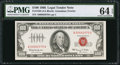 Small Size:Legal Tender Notes, Fr. 1550 $100 1966 Legal Tender Note. PMG Choice Uncirculated 64 EPQ.. ...