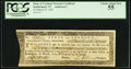 Colonial Notes:Vermont, Vermont Treasury Certificate £5 March 25, 1785 Anderson 2 PCGSChoice About New 55.. ...