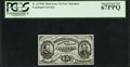 Fractional Currency:Third Issue, Fr. 1275SP 15¢ Third Issue Narrow Margin Face PCGS Superb Gem New 67PPQ.. ...