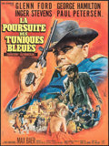 """Movie Posters:Western, A Time for Killing & Other Lot (Columbia, 1967). French Affiche (23.5"""" X 30.25"""") & French Grande (46"""" X 617). Western.. ... (Total: 2 Items)"""