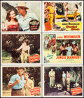 """Movie Posters:Adventure, Mark of the Gorilla & Others Lot (Columbia, 1950). Lobby Cards(6) (11"""" X 14""""). Adventure.. ... (Total: 6 Items)"""