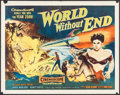"Movie Posters:Science Fiction, World Without End (Allied Artists, 1956). Half Sheet (22"" X 28"")Style A, & Lobby Cards (3) (11"" X 14""). Science Fiction.. ...(Total: 4 Items)"
