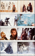 """Movie Posters:Science Fiction, The Empire Strikes Back (20th Century Fox, 1980). Mini Lobby CardSet of 8 (8"""" X 10""""). Science Fiction.. ... (Total: 8 Items)"""