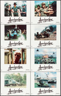 """Movie Posters:War, Apocalypse Now (United Artists, 1979). Lobby Card Set of 8 (11"""" X14""""). War.. ... (Total: 8 Items)"""