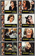 "Movie Posters:Rock and Roll, Let It Be (United Artists, 1970). Lobby Card Set of 8 (11"" X 14"").Rock and Roll.. ... (Total: 8 Items)"
